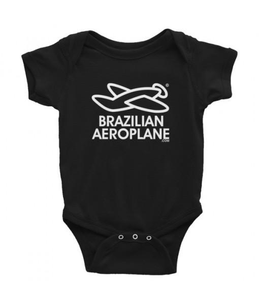 Brazilian Aeroplane Baby Bodysuit