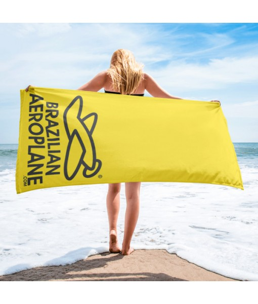 Brazilian Aeroplane Beach Towel
