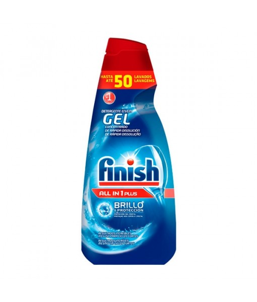 Finish All-In-One Dishwasher Detergent Gel Plus (50 uses)