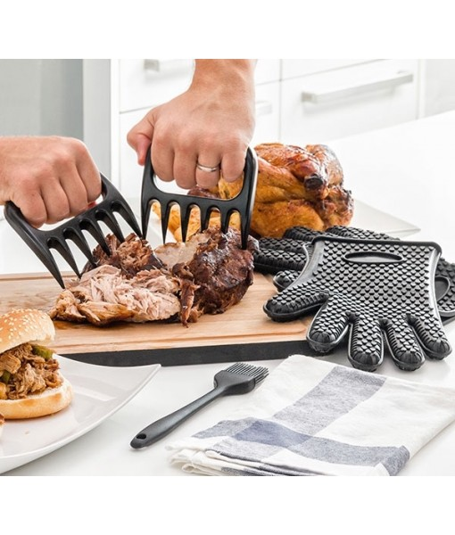 Meat Claws with Brush and Gloves
