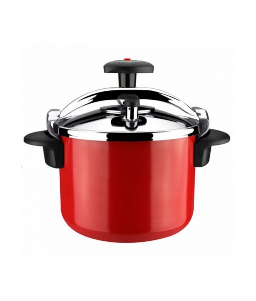 Pressure Cooker Magefesa Castell Recta 6 l Ceramic Inox Red